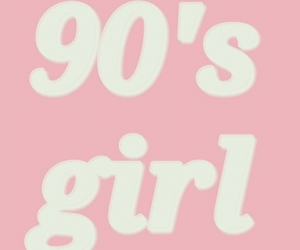 90s, pink, and girl image