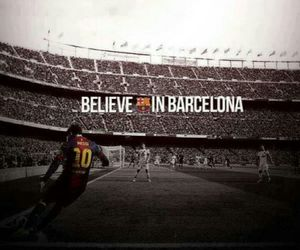 Barca, fc barcelona, and messi image