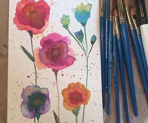 Taylor Swift, flowers, and art image