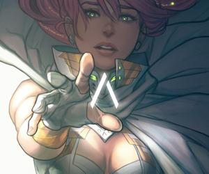 beautiful, superhero, and deviantart image