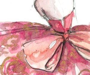 art, bow, and fashion image