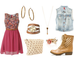 accesories, boots, and cute bag image
