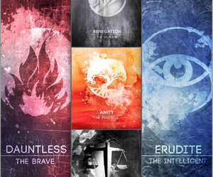 amity, four, and tris image