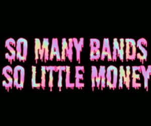 band members, money, and music image