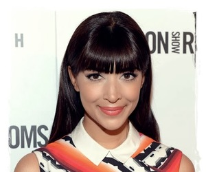 hannah simone, celebrity hairstyles, and celebrity hairstyle image