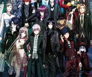 anime, K, and k project image