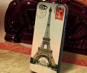 eiffel tower, iphone 4 case, and iphone 5 case image