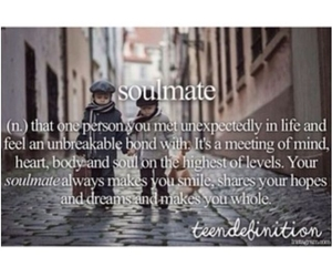 soulmate, love, and girl image