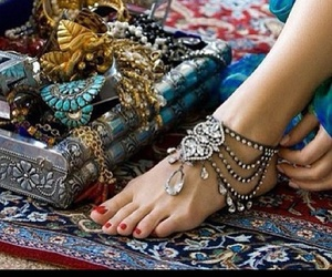 hippie, indian jewellery, and indian image