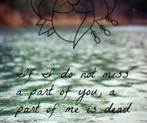 love, dead, and quote image