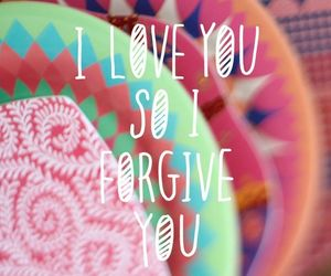 love, forgive, and quotes image