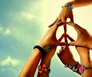 peace, pictures, and symbol image