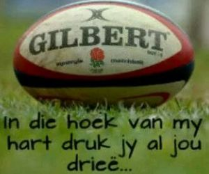 afrikaanse quotes and rugby liefde image