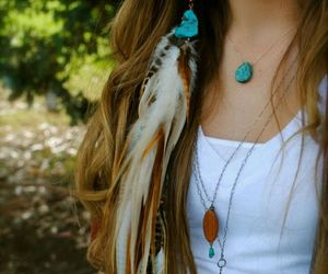 feather and hair image