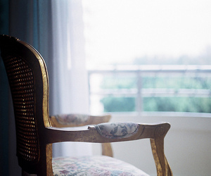 chair, vintage, and film image
