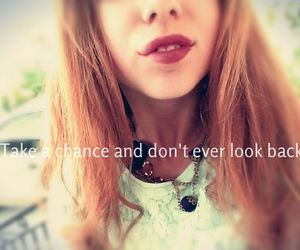 beautiful, lips, and don't look back image