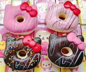 delicious, yuuuum, and donuts image