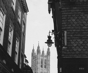 black and white, europe, and photography image