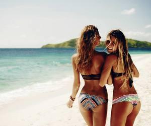 beach, hawaii, and Hot image