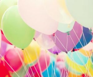 ballons and colorful image