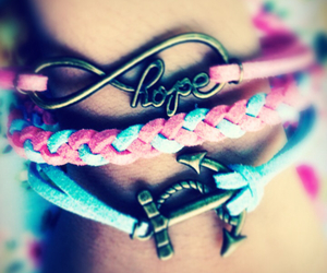 anchor, bracelet, and charms image