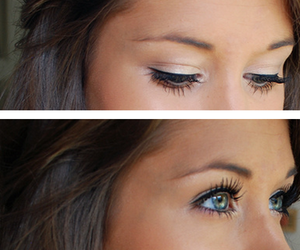 beautiful, lashes, and eyebrows image