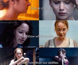 divergent, katniss, and tris image
