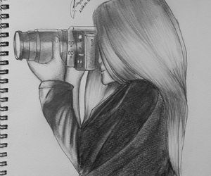 draw, drawing, and photography image