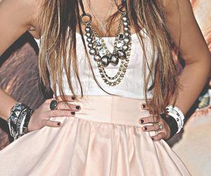 fashion, miley cyrus, and dress image