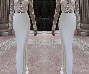 maxi dress, prom dress, and wedding dress image