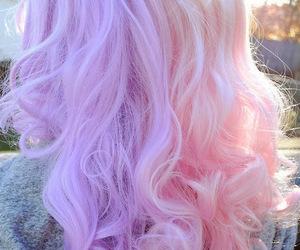 beautiful, curls, and long hair image