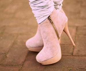 boot, fashion, and pink image