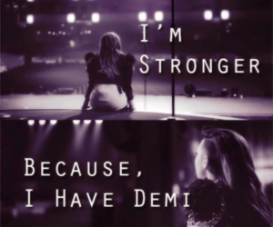 demi lovato, stay strong, and lovatic image