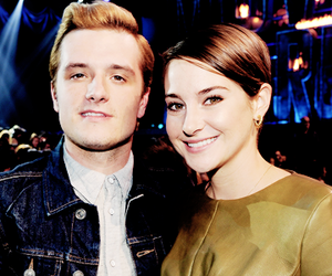 josh hutcherson, Shailene Woodley, and the hunger games image