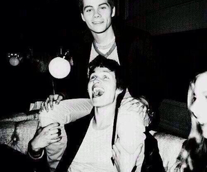 ansel elgort, dylan o'brien, and tfios image