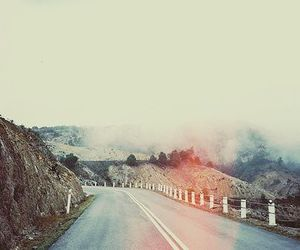 road, photography, and nature image