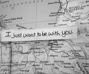 love, you, and map image