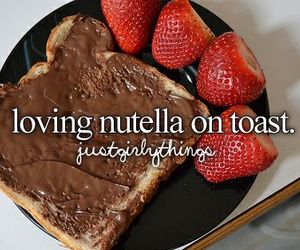 food, nutella, and delicious image