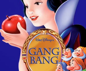 apple, funny, and blanche neige image