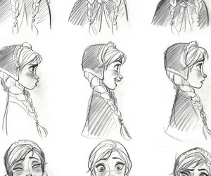 anna, art, and let it go image