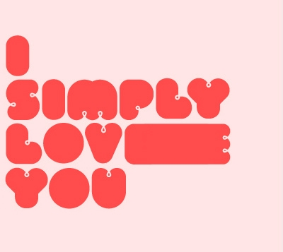 simple and love image