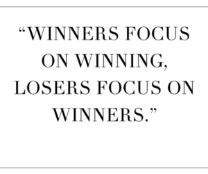 quote, winner, and loser image