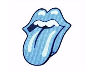 rolling stones, pink, and rock image