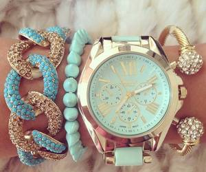 accessories, trendy, and bracelets image