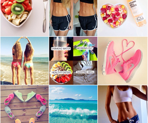 Collage, healthy, and inspiration image