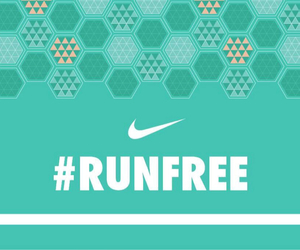 Just Do It, nike, and run image