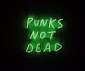 punk, green, and grunge image