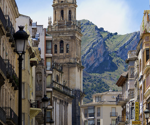 travel, spain, and street image