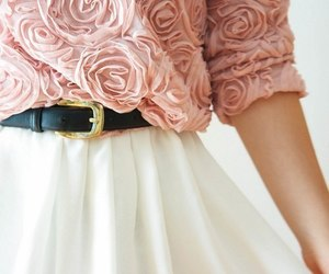 fashion, rose, and pink image