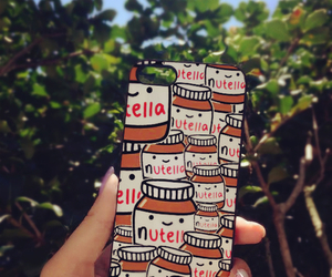 case, nutella, and iphone image